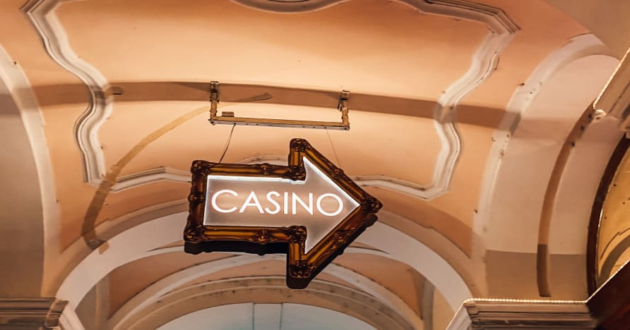 Gambling i et live casino