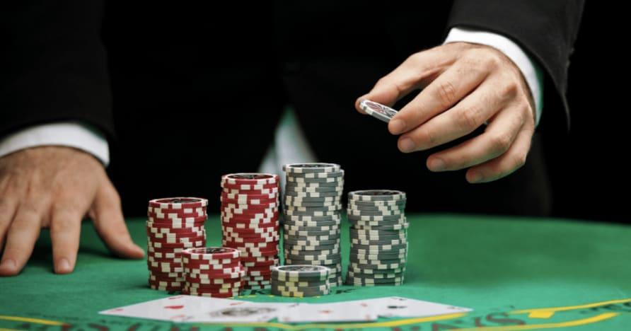 Sammenligning av odds for dagens beste Live Casino-spill